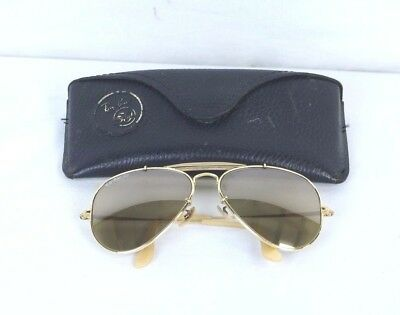 227d2b7cd92 Vintage Ray-Ban The General 1937-1987 50th Anniversary Sunglasses Bausch  Lomb