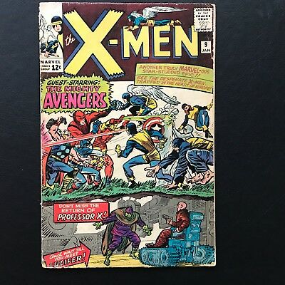 The X-Men #9 - A1 Lot Uncanny Mighty Avengers Crossover Stan Lee