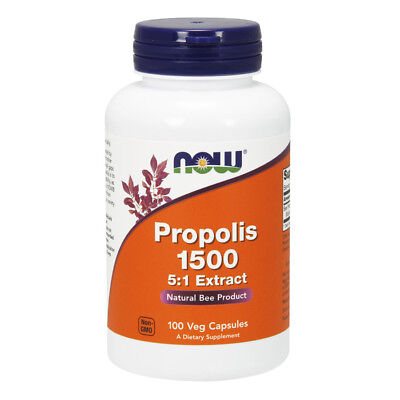 NOW FOODS Propolis 500mg 100 capsule - VITAMINE