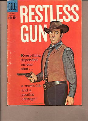 "Four-Color: Vint Bonner ""restless Gun""  #1045, 1960  Dell...fn-/fn"