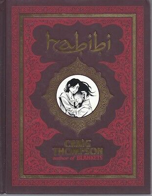 HABIBI CRAIG THOMPSON SIGNED First American Edition Graphic Novel Love Story