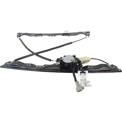 Power Window Regulator For 2004-2015 Nissan Titan Front Right Side With Motor