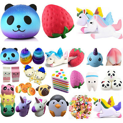 Jumbo Slow Rising Squishies Scented Charms Kawaii Squishy Squeeze Toy Kids Gift