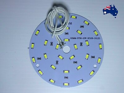 Led Oyster Light Conversion Home Caravan 240V 24W Or 12V 15W No Driver Required