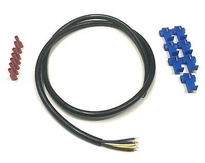 7 Colours 5Amp Cable 12N Towbar Caravan Trailer Wiring Lighting and Connectors