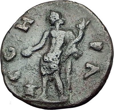 ELAGABALUS 218AD Parion Parium Mysia Authentic Ancient Roman Coin Genius i65180