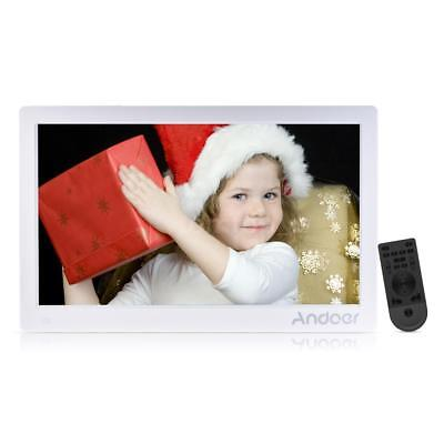 "Andoer 15.6""LCD HD Digital Photo Frame MP4 Movie Player With Remote Contorl T1Y2"