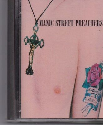 Manic Street Preachers-Generation Terrorists mini disc album