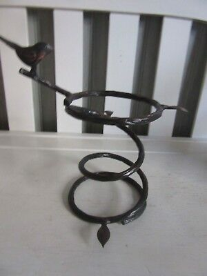 Longaberger Collector Club Wrought Iron Bird Bath Stand NEW Ships next day