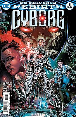 CYBORG #1, New, First print, DC REBIRTH (2016)