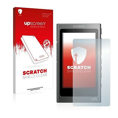 upscreen Scratch Clear Screen Protector for Sony NW-A35 Scratch-proof