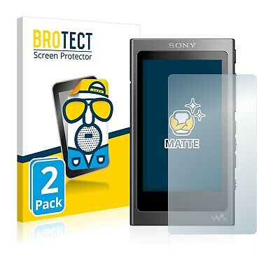 2x BROTECT Matte Screen Protector for Sony NW-A35 Protection Film