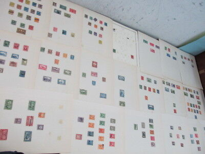 Nystamps Canada & Newfoundland old stamp collection
