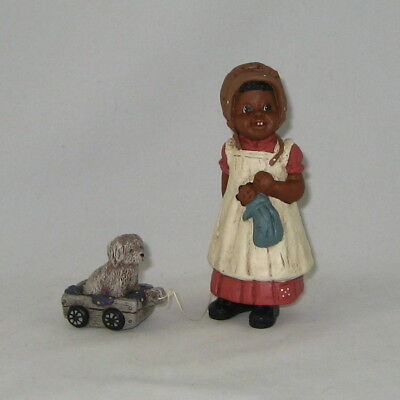 "ALL GOD'S CHILDREN Figurine By Martha Holcombe ""BONNIE & BUTTONS"" New In Box"