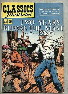 Classics Illustrated #25-1950 fn 5th edition Dana Jr