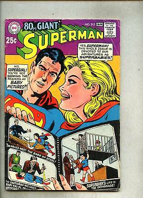 Superman #212-1968 vg/vg- Curt Swan 80 page Giant
