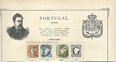 portugal #1, #2 and #3, small faults but good  for these min cat $1600 (#0270a)