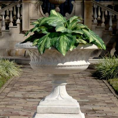 LARKIN ARTS AND CRAFTS ARCHITECTURAL GARDEN URN STATUE DESIGN TOSCANO garden urn