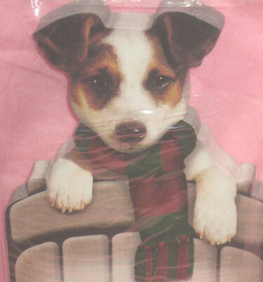 Die Cut Jack Russell Terrier  Puppy Dog Note Pad Free Shipping 100 Sheets