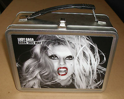 LADY GAGA Born This Way US promo-only lunch box / lunch pail MINT