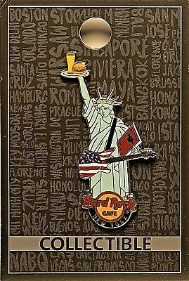 Hard Rock Cafe New York Core Statue of Liberty City 2017 Pin HRC NYC LE NEW