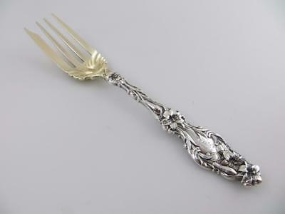 Salad Fork (s) LILY Whiting Sterling Silver Flatware with Monogram