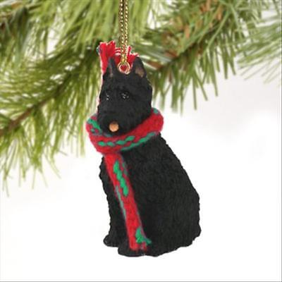 Bouvier des Flandres Cropped Dog Tiny One Miniature Christmas Holiday ORNAMENT
