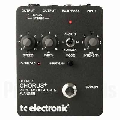 TC Electronic SCF Stereo Chorus Flanger Modulator * NEW * t.c. Made in Denmark