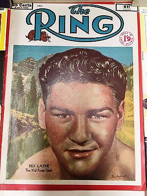 Boxing Magazine The Ring Vintage Edition May 1951 : Low Start Price No Reserve