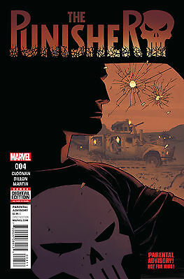 PUNISHER #4, New, First print, Marvel Comics (2016)