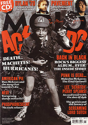 MOJO MAGAZINE No 199 JUNE 2010 AC/DC /BOB DYLAN/ LEE PERRY /LORD SUTCH/PAVEMENT