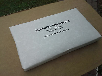 """12  Thick Magnet Sheets, 8.5"""" x 11"""" inch, art project SELF ADHESIVE"""