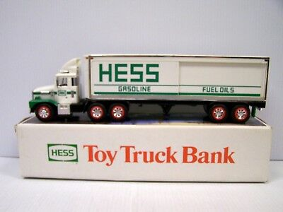 1987 Hess Toy Truck Bank  **FREE S&H**