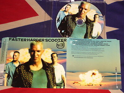 SCOOTER - faster harder Scooter   5 trk MAXI CD 1999