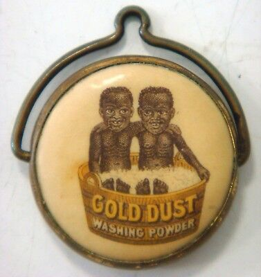 Celluloid Spinner - GOLD DUST Washing Powder (Gold Dust Twins)