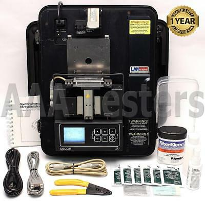 Siecor Corning RXS X77 SM MM Fiber Core Alignment Fusion Splicer w/ Cleaver