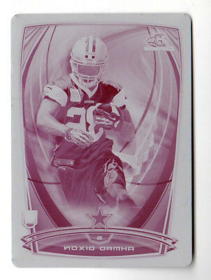 Ahmad Dixon Nfl 2014 Bowman Chrome Printing Plates Magenta (Cowboys) One Of One