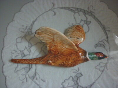 Beswick Gloss Small Pheasant Wall Plaque - 661/3