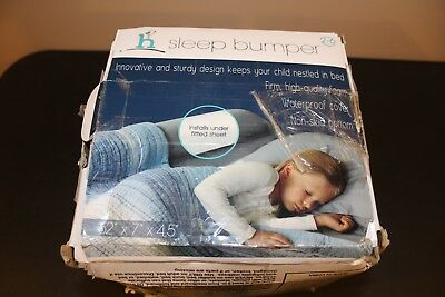 "CB4-M-HCP Hiccapop Sleep Bumper Bed Rail 2-6 years 52"" x 7"" x 4.5"""