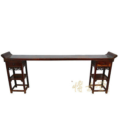 Chinese Antique Open Carved Altar Table/Console 26P09