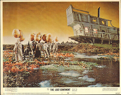 THE LOST CONTINENT original1968 HAMMER lobby card ERIC PORTER 11x14 movie poster