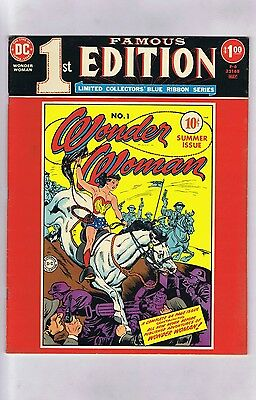 Famous First Edition F-6 WONDER WOMAN #1 (Pretty-Sharp!) 1975 Treasury (c#15254)