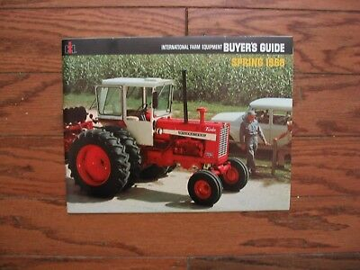 "1968 International Harvester Buyers Guide..4100 4-Wd..""new"" 1256 Turbo..combine"