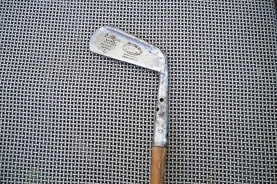 Antique Vintage Hickory Shaft Forgan St Andrews Maxwell Flanged Putter