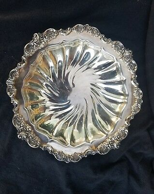 Baroque By Wallace Silverplate Serving Bowl #223