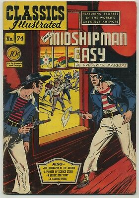 Classics Illustrated 74 Rare Only Printing!