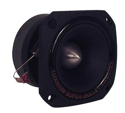 New Pyramid TW44 1'' 300 Watt Heavy Duty Titanium Super Tweeter Car Audio