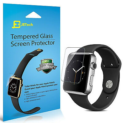2-Pack 42mm Apple Watch Screen Protector Film Premium Tempered Glass