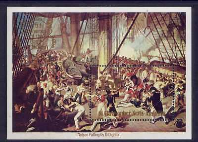 St Christopher Nevis Anguilla 401 MNH Art, Lord Nelson, Ship