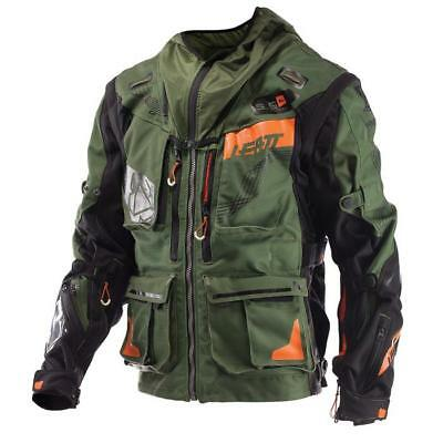 Leatt MX Jacke 5.5 Enduro - kaki-schwarz Motocross Enduro MX Quad